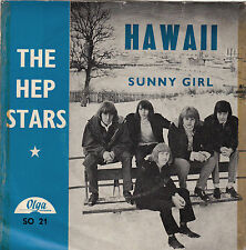 THE HEP STARS - hawaii / sunny girl 45""