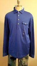 Polo Ralph Lauren Men's Size XXL Long Sleeve One Pocket Blue Shirt THESPOT917