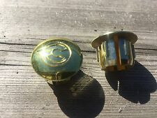 VINTAGE CINELLI HANDLEBAR END CAPS GOLD BAR END CAPS CAP PLUG PLUGS BARTAPE NOS