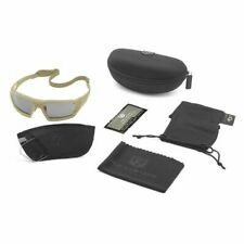 Revision Military 4 0750 0104 Ballistic Safety Glasses Wraparound Clear Solar