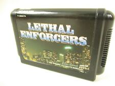 Mega Drive LETHAL ENFORCERS Cartridge Only Sega Japan Game mdc