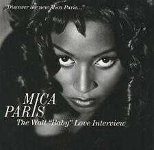 "MICA PARIS The Walt ""Baby"" Love Interview Promo CD 1993 RARE! 90's Soul R&B"