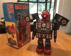 Horikawa (SH) Japan Tin Dino Robot  NEAR MINT, WORKING & ORIGINAL JAPANESE BOX