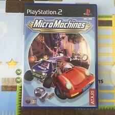 Micro Machines-SONY PLAYSTATION 2 PStwo PS2 Juego-Como Nuevo