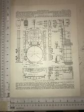 Penstock For Graving Dock: 1912 Engineering Magazine Print