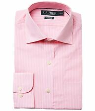 Lauren Ralph Lauren Dress Shirt Mens Classic Fit Long Sleeves Non Iron Cotton
