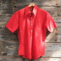 Vintage Sears Kings Road Shop Perma Prest Shirt Size M 15 15-1/2