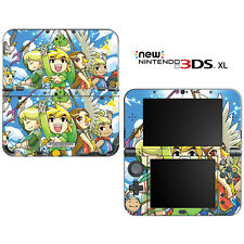 The Legend of Zelda The Wind Walker for New Nintendo 3DS XL Skin Decal Cover