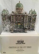 Dept 56 Christmas in the City Village The Capitol #58887 Large Lighted Building