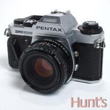 PENTAX SUPER PROGRAM MANUAL FOCUS 35mm FILM CAMERA w/50mm f1.7 LENS