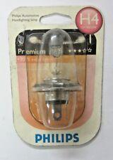 PHILIPS Glühbirne h4 PREMIUM 12v 60/55W + 30% extra Licht neu 12342PR B1