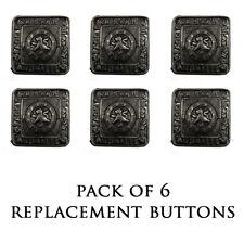 New Kilt Bundle of 6 Antique Finish Prince Charlie/Argyll Jacket Button - Small