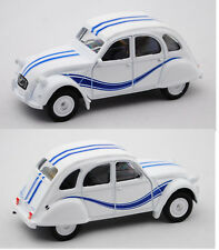 NOREV série 500 Classic 310508 CITROEN 2cv France 3, blanc/bleu
