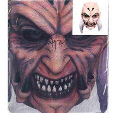 Overhead de malla de impresión Duende de Horror Halloween Máscara facial completa