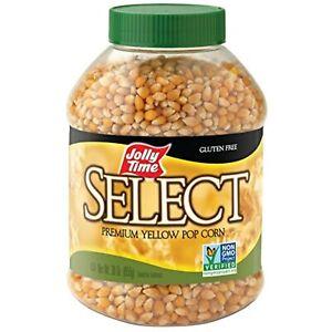 Jolly Time Select Popcorn Kernels Premium Yellow Popping Corn