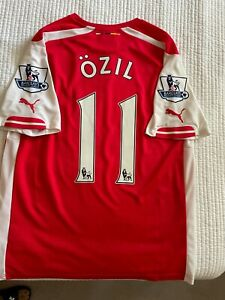Puma Arsenal FC 2014/2015 Mesut Özil Jersey - Size (L) Large