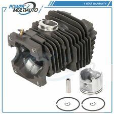 46mm Cylinder Head Piston Kit For Stihl 029 MS290 039 MS390 Piston Rings Circlip