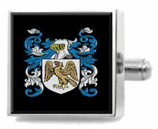 Donaldson Ireland Family Crest Surname Coat Of Arms Tie Clip Engraved In Pouch