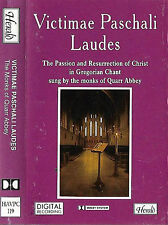 Monks of Quarr Abbey Victimae Paschali Laudes CASSETTE ALBUM Gregorian chant