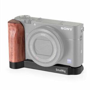 SmallRig Camera L-shape Wooden Grip for Sony RX100 III IV V VA 2248