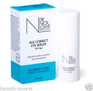 Dr Nick Eye Serum Firming Anti Ageing Wrinkles Puffy Ageless Facial Cream 15ml
