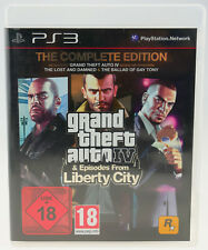 Grand Theft Auto: episodes from Liberty City completamente OVP PlayStation 3 ps3 muy