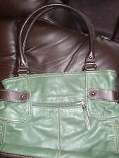 FAB GREEN GRAB BAG BY TIGNANELLO IN EXCELLENT CONDITION**REDUCED**