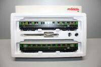 Märklin 43208 Wagen-Set Fernschnellzug Berlin-Leipzig Licht Spur H0 OVP