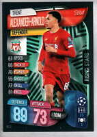 2019-20 Topps Match Attax Extra UEFA Champions League Rising Stars RS2 Liverpool