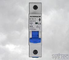 Leitungsschutzschalter Schrack B10 B16 1-polig 3-polig 10A 16A B LS-Schalter