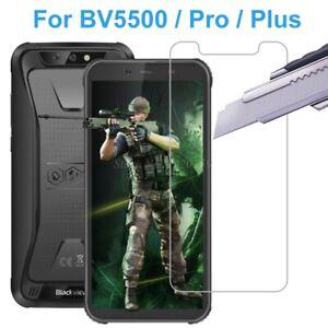 2PCS Blackview BV5500 BV5500 Plus BV 5500 Pro Tempered Glass Screen Protectors