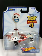 2019 HOT WHEELS CHARACTER CARS DISNEY TOY STORY 4 FORKY - D1