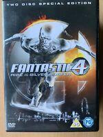 Fantastico Quattro 2 DVD 2005 4 Argento Surfer Marvel Universe Supereroe Film