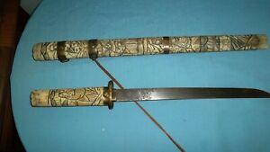 ANTIQUE  JAPANESE SAMURAI  TANTO KNIFE/SWORD