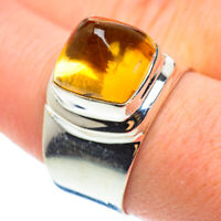 Citrine 925 Sterling Silver Ring Size 9.75 Ana Co Jewelry R52281F