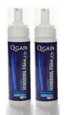 2 x QGAIN MINOXIDIL FOAM 5% 6 Months Supply in total