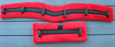 Horse Mule Harness Driving Saddle Pad Set Curved or Straight Cart Carriage