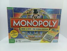 Monopoly Here & Now: The World Edition - Brand New Unopened Board Game