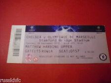 2010/11 Liga de Campeones Chelsea v Olympique Marsella Ticket