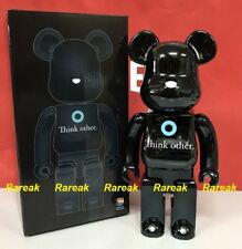 Medicom 2017 Be@rbrick I am OTHER 400% Think other Black metallic Bearbrick 1pc