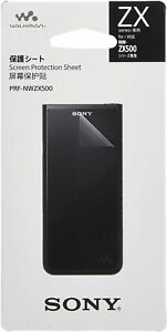 Genuine SONY Walkman Hard Screen Protector Film for NW-ZX500 series PRF-NWZX500