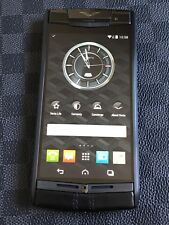 "Genuine Vertu Signature Touch 4.7"" Black on Black PVD Super RARE a Gotta Have"