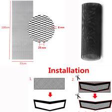 40'' x 13'' Black Hexagonal Aluminum Grille Mesh Grill For Car Hood Vent Fender