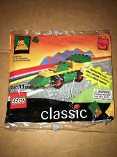 1999 Classic Lego Bag Set #4 Ronald McDonald Happy Meal Race Car 11 Pcs Sealed