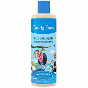 Childs Farm Organique Framboise Bulles Bain 500ml - Végétalien