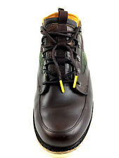 Timberland Abington  Leather  Chukka Mens Brown / Green Casual Boots Size 12 Usa