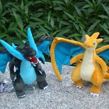 "2X Charizard Pokemon Center Go Plush Toy Nintendo Dragon Stuffed Animal Doll 9"""