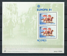 S8326) Azores Mnh 1981, Europa, Folklore S/S