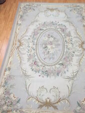 6' x 9' New Chinese Aubusson Oriental Rug - Hand Made - 100% Wool
