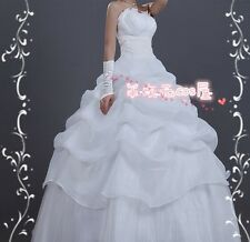 Future Diary Mirai Nikki Heroine Uryuu Minene Anime Cosplay  white weeding Dress